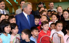 Visit to National Tennis Centre