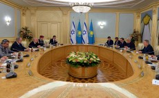 Negotiations in extended format as part of the Prime Minister of Israel Benjamin Netanyahu's official visit