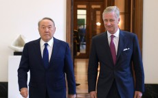 Meeting with King Philippe of Belgium
