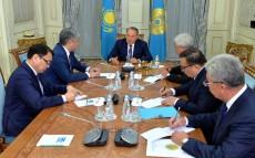 Қазақстан Президенті Нұрсұлтан Назарбаев Қырғыз Республикасының Сыртқы істер министрі Эрлан Абдылдаевпен кездесті