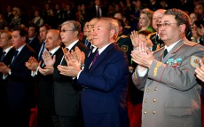 Participation in the concert dedicated to the Day of the Fatherland Defender and the 25th anniversary of Kazakhstan's Armed Forces