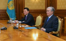 The Head of State receives a member of the National Council of Public Trust, political scientist Rassul Zhumaly