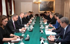 Meeting with Sauli Niinistö, President of Finland