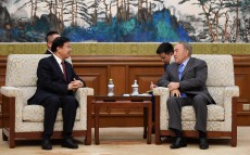 Meeting with Wang Yilin, Chairman of the Board of China National Petroleum Corporation