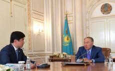 Мемлекет басшысы Алматы қаласының әкімі Бауыржан Байбекті қабылдады
