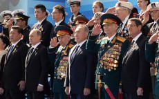 Participation in the military parade dedicated to the 70th anniversary of Victory in the Great Patriotic War