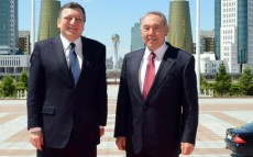 President Nursultan Nazarbayev Meets President of the European Commission Jose Manuel Barroso