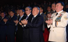 Visit to the concert of the Presidential Orchestra of Kazakhstan's State Security Service, dedicated to the 25th anniversary of a special state body's creation