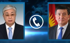 President Kassym-Jomart Tokayev had a telephone conversation with President of the Kyrgyz Republic Sooronbai Jeenbekov