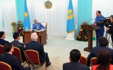 Meeting with participation of governors of Akmola, Kostanay and North Kazakhstan regions