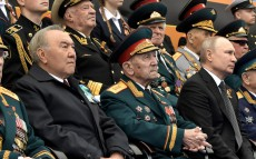 The First President of Kazakhstan visits military parade on the 74th anniversary of Victory in the Great Patriotic War