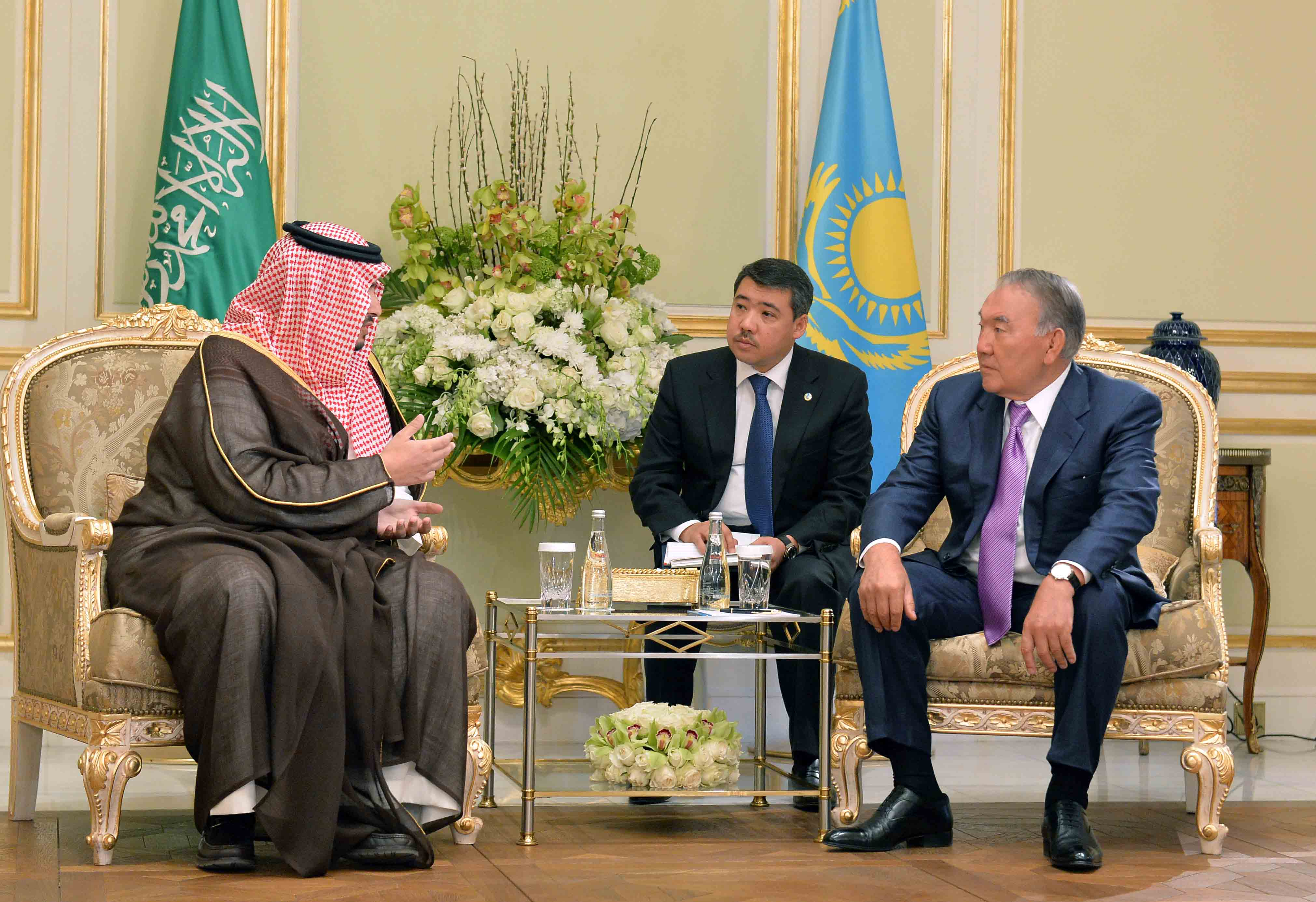 Meeting with Vice-President of Amiantit Group Prince Turki bin